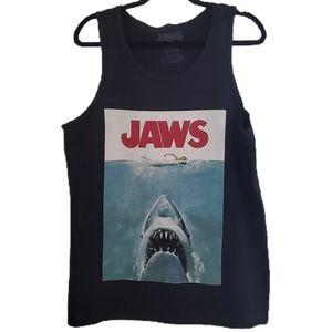 Jaws Tank Top Men's Size Large 100% Cotton
